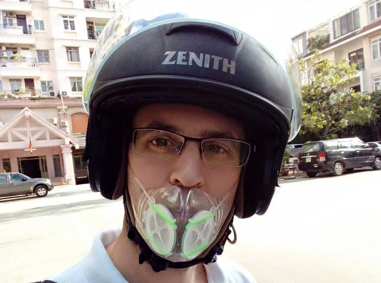 Motorcycle Anti Pollution Mask Totobobo
