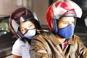 motorcycle face mask filter